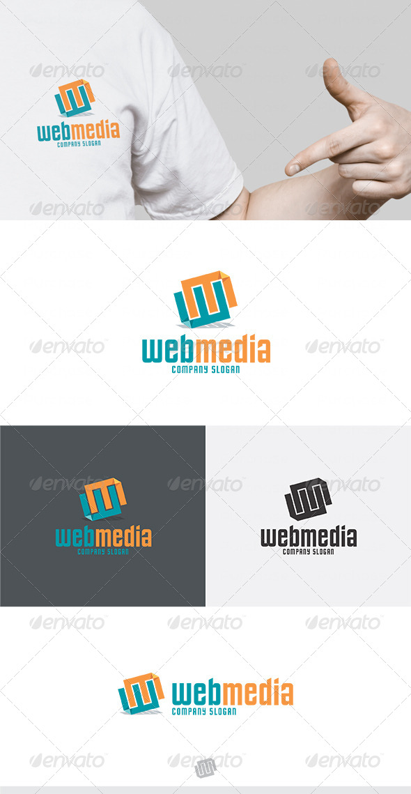 Web Media Logo 2 - Letters Logo Templates