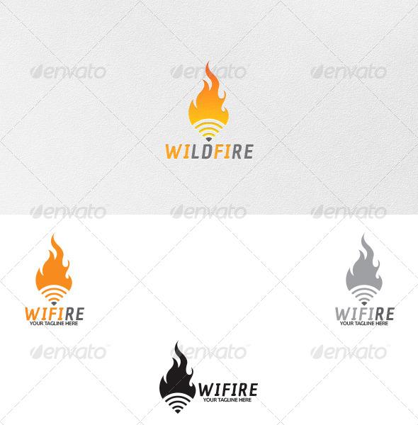 Wifi - Logo Template - Symbols Logo Templates