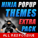 Themes Pack for Ninja Popups - CodeCanyon Item for Sale