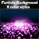 Particle Background - GraphicRiver Item for Sale