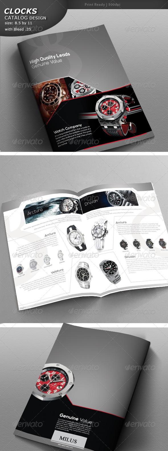 Clock Catalog - Catalogs Brochures