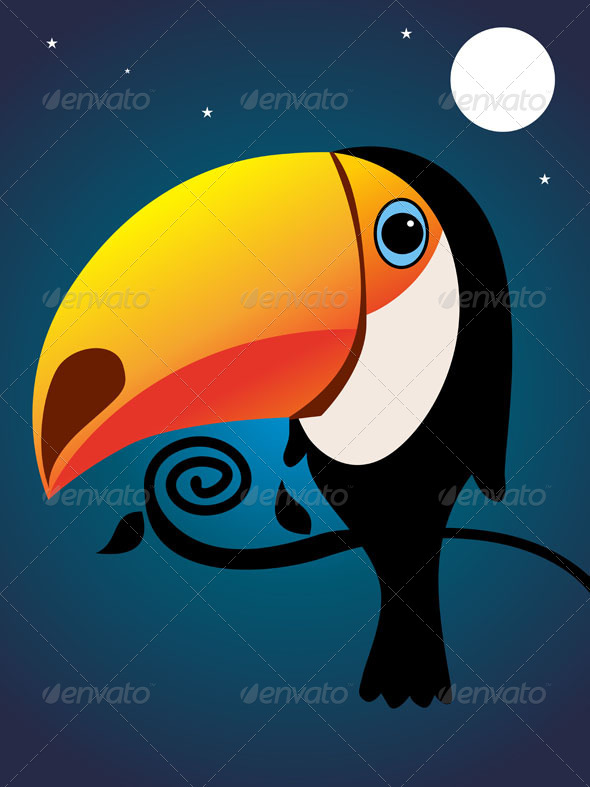 Toucan - Animals Characters