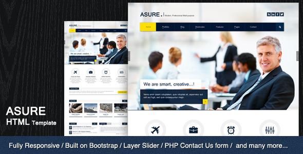 ASURE - Multi Purpose HTML Template