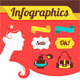 Beautiful Woman's Infographics - GraphicRiver Item for Sale
