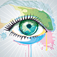 Abstract Eye Vector Watercolor - GraphicRiver Item for Sale