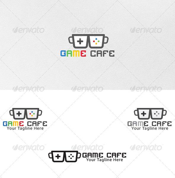 Game Cafe - Logo Template - Symbols Logo Templates