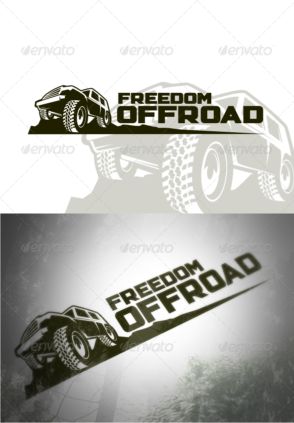 Freedom Offroad Logo Templates - Objects Logo Templates