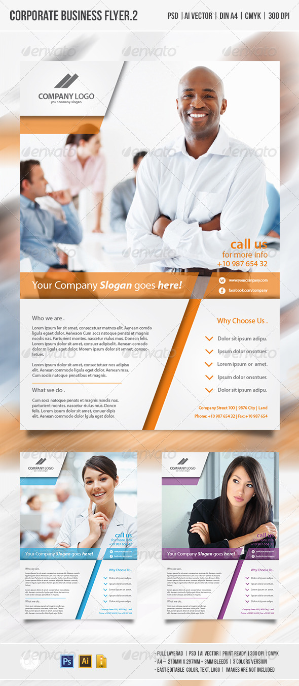 Corporate Business Flyer vol.2 - Corporate Flyers