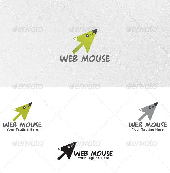 Web Mouse - Logo Template - Animals Logo Templates