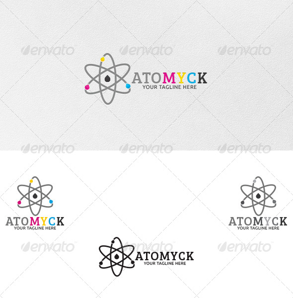 Atomyck - Logo Template - Vector Abstract
