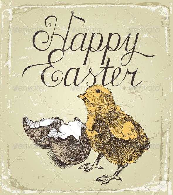 Easter Card - Religion Conceptual