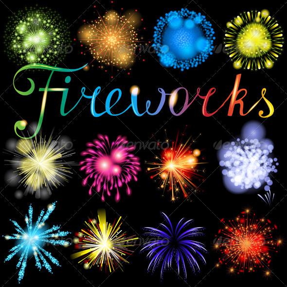 Fireworks - Miscellaneous Vectors