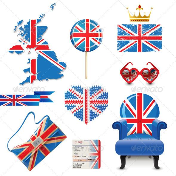 British Flag - Miscellaneous Vectors