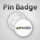 Pin Badge Mock-Up - GraphicRiver Item for Sale