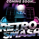 80's Retro Smash Party Flyer - GraphicRiver Item for Sale