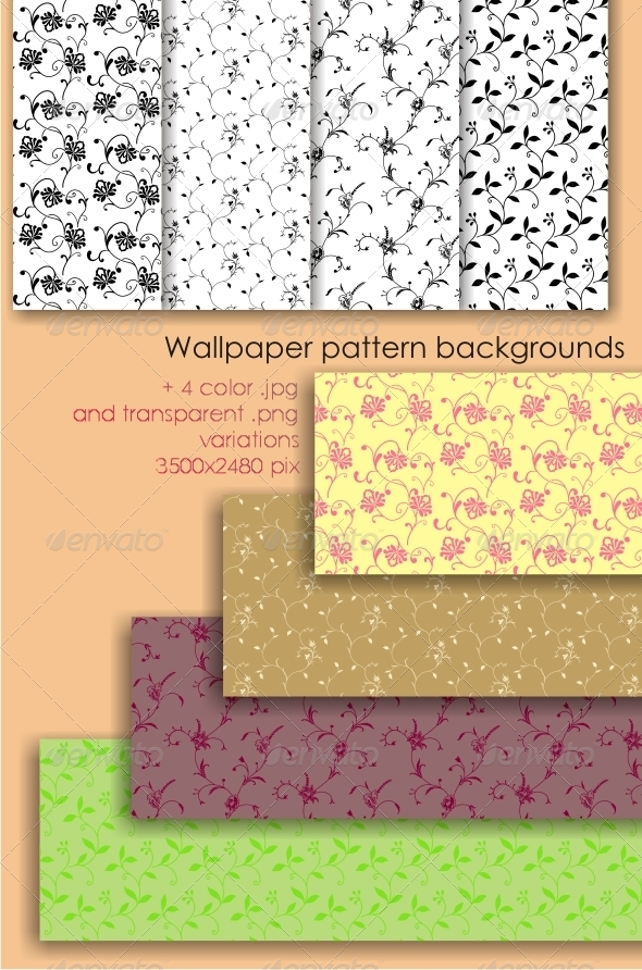 Wallpaper Background Pattern  - Patterns Decorative