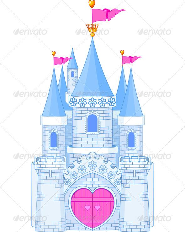 Romantic Castle - Buildings Objects