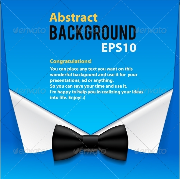 Abstract Official Paper Elements Blue Background - Backgrounds Business