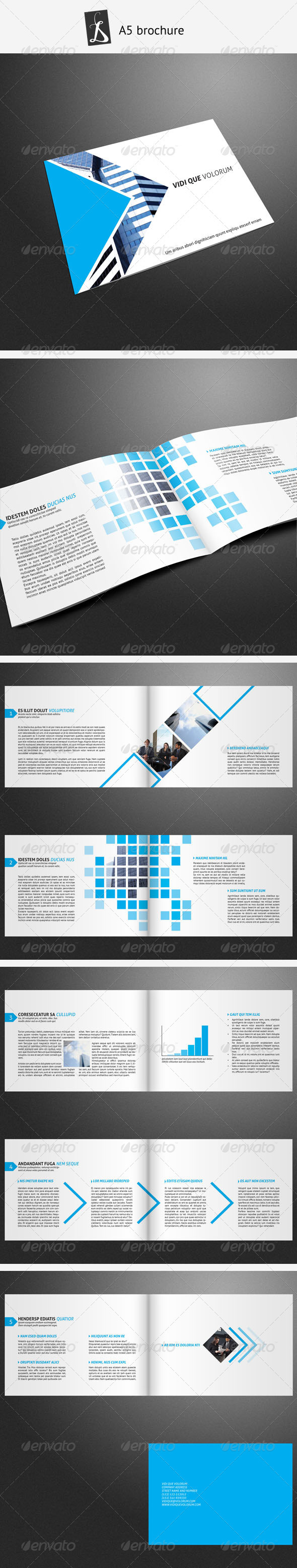 A5 brochure 7 - Corporate Brochures