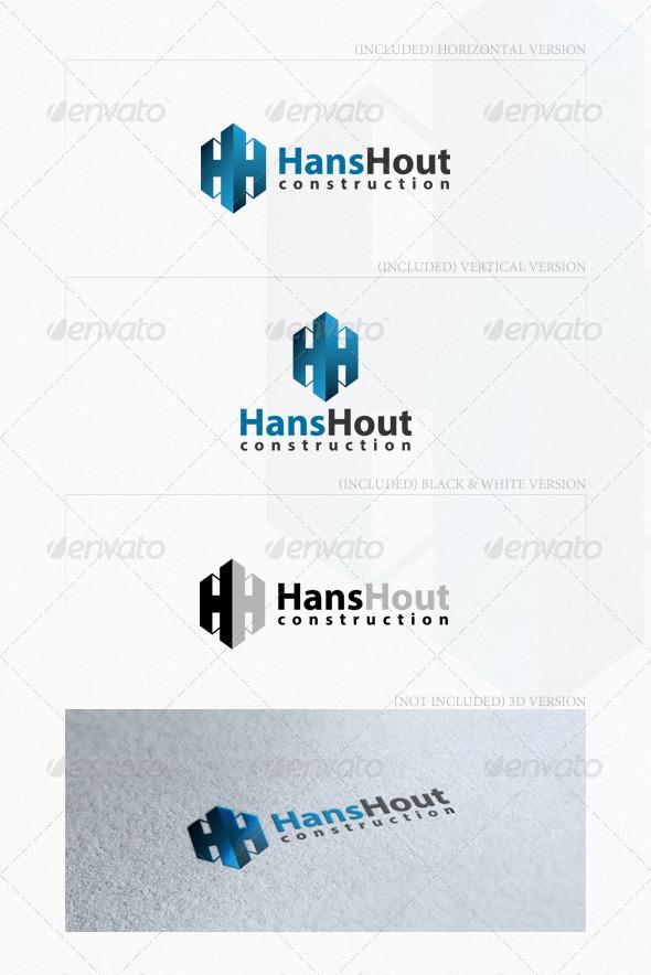 Hans Hout Logo - Letters Logo Templates