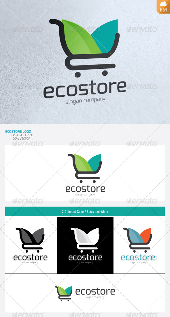 Eco Store - Objects Logo Templates