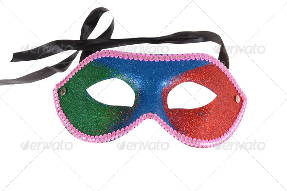 Carnival a mask - Stock Photo - Images