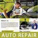 Auto Repair Flyer/ Magazine Ad - GraphicRiver Item for Sale