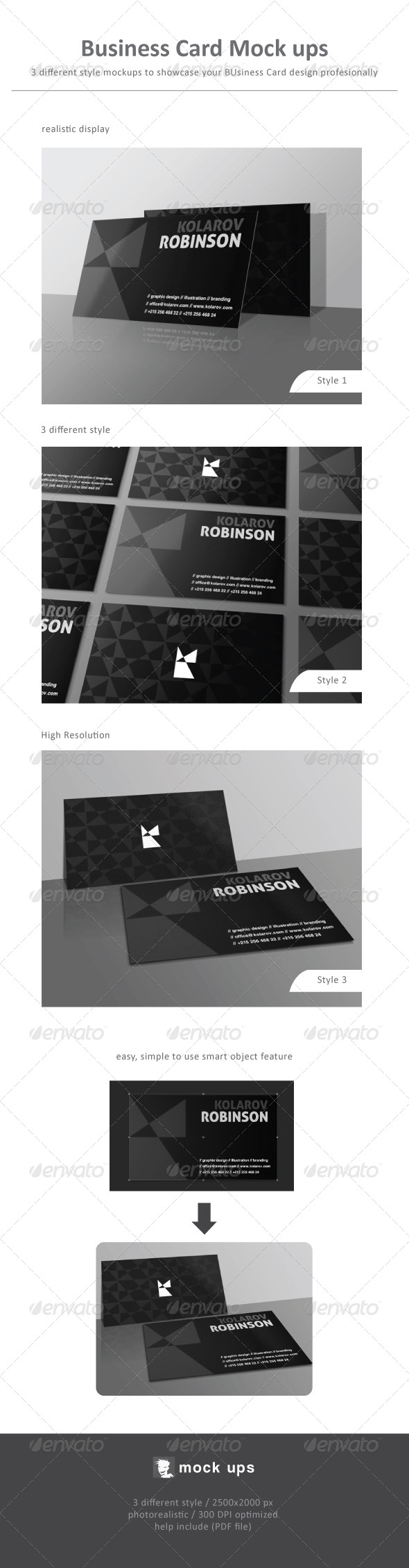 Business Card Mock Ups - Business Cards Print