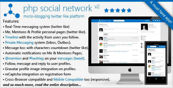 PHP Social Network Platform - CodeCanyon Item for Sale