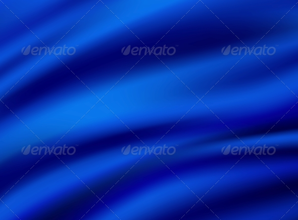 Abstract Texture, Blue Silk - Fabric Textures
