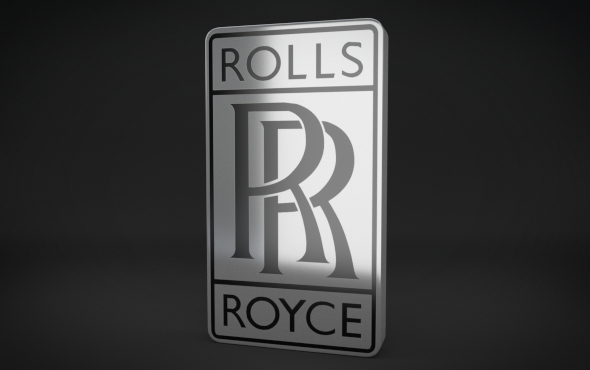 Rolls Royce Logo - 3DOcean Item for Sale