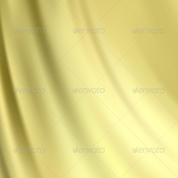 Gold Silk Background - Fabric Textures