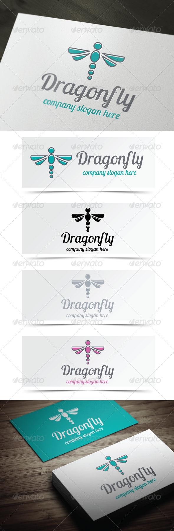 Dragonfly - Animals Logo Templates