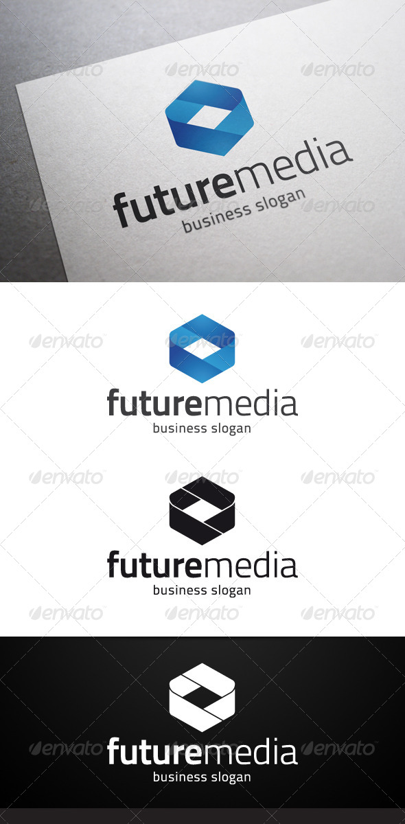 Future Media Logo - Abstract Logo Templates