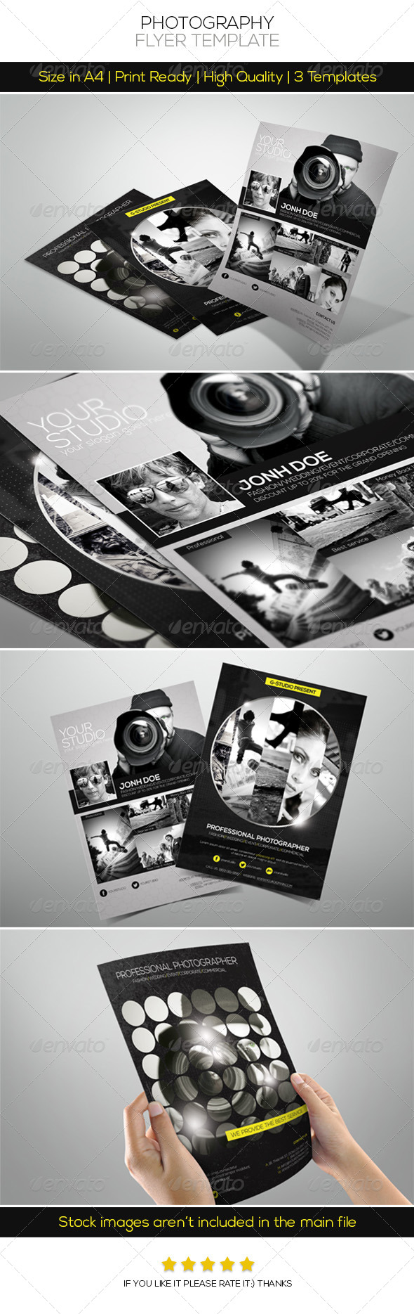 Premium Photography Flyer - Corporate Flyers