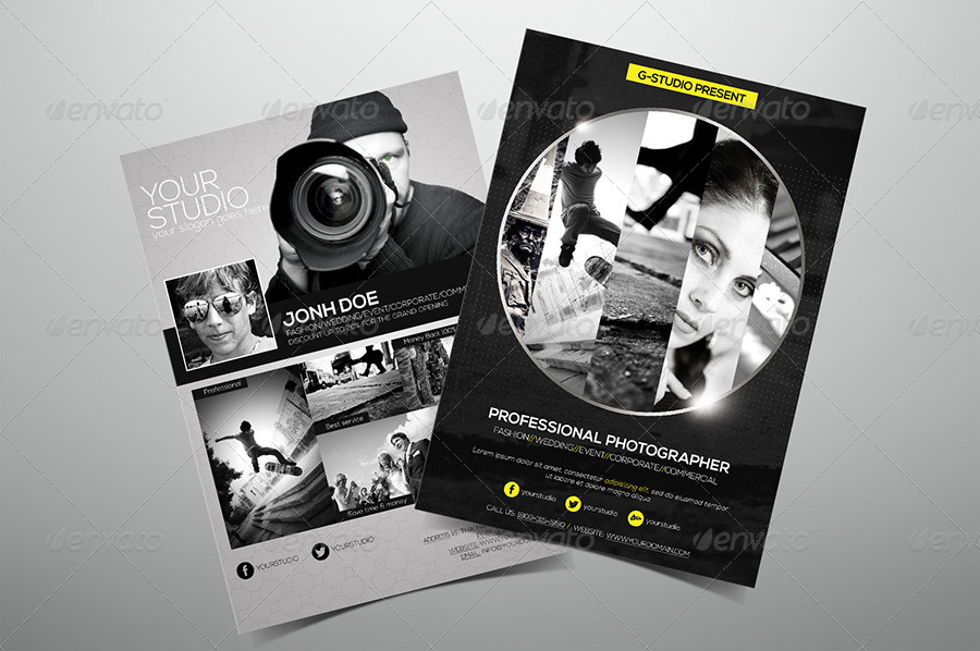 Premium Photography Flyer By Hoanggiang  Graphicriver