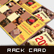 Corporate Rack Card - Stamp Collage - GraphicRiver Item for Sale