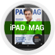 PadMag 25 Pages iPad Magazine - GraphicRiver Item for Sale