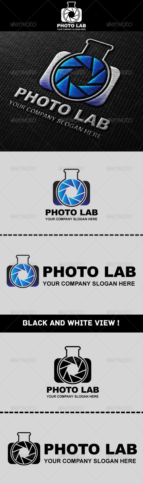 Photo Laboratory Logo - Symbols Logo Templates
