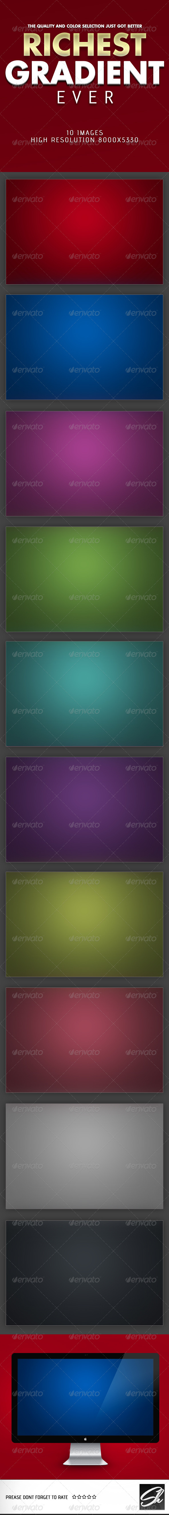Richest Gradient Ever - Abstract Textures