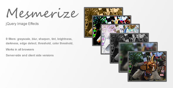 Mesmerize: jQuery Image FX Plugin - CodeCanyon Item for Sale