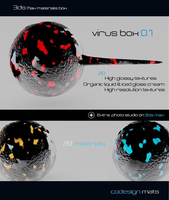 Virus Box 0.1  - 3DOcean Item for Sale