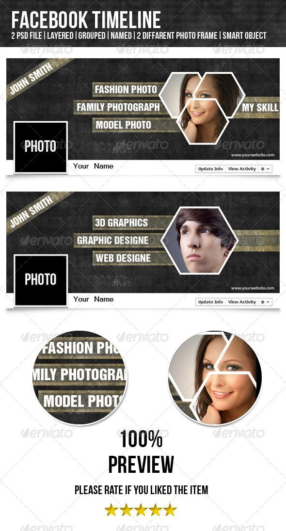 Facebook Timeline-Designer&Photographer by smmr | GraphicRiver