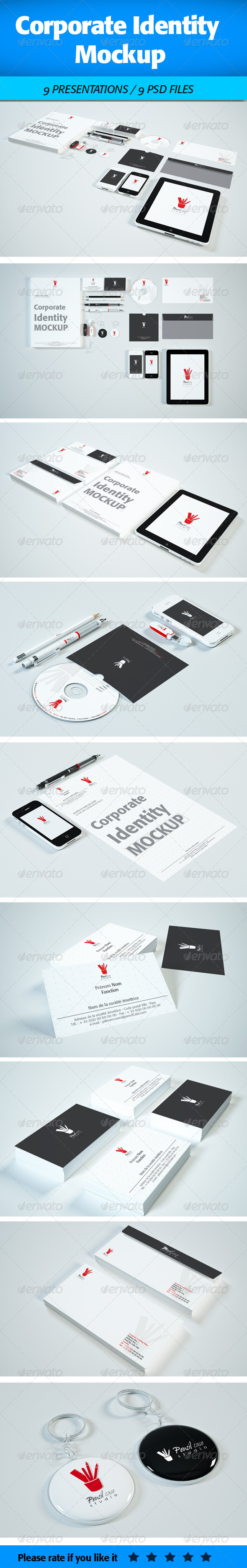Corporate Identity Mock-Up - Miscellaneous Print