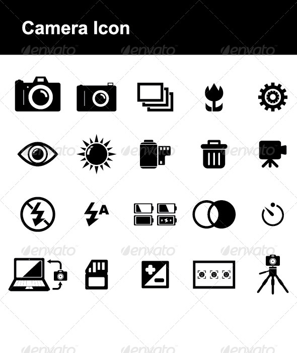 Camera Icon - Technology Icons