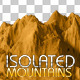 3 Isolated Mountains - GraphicRiver Item for Sale