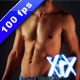 Faceless Male Torso  - VideoHive Item for Sale