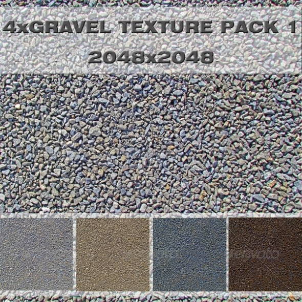 Gravel Pack - 3DOcean Item for Sale