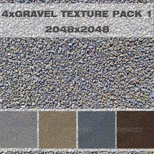 gravel pack 3docean item for sale