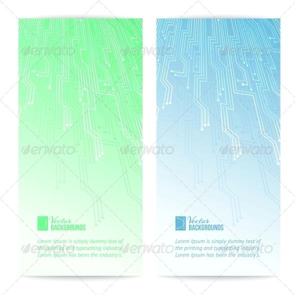 Computer Cards - Abstract Conceptual